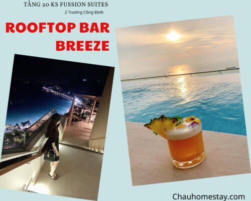 Rooftop bar Vũng Tàu Breeze – 2 Trương Công Định