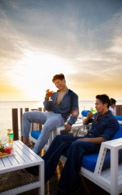 Một quán cà phê view biển Vũng Tàu siêu sang chảnh không thể bỏ qua đó là Marina club