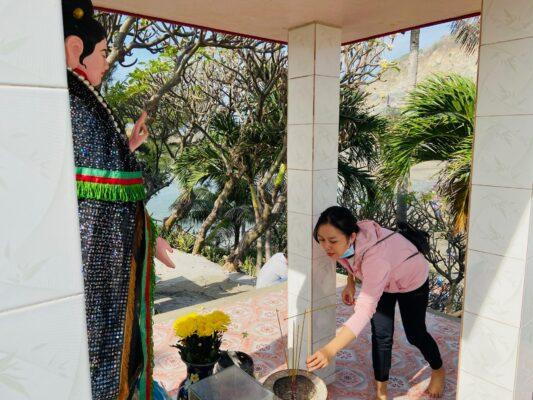 Đảo Hòn Bà Vũng Tàu không chỉ là nơi thờ cúng linh thiêng