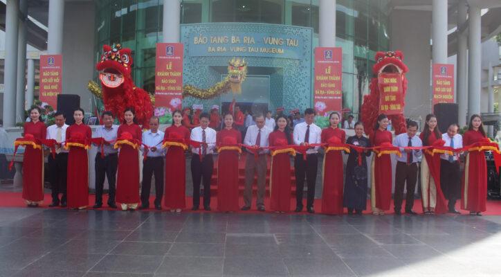 Sáng 11/7/2020, UBND tỉnh tổ chức lễ khánh thành Bảo tàng tỉnh Bà Rịa - Vũng Tàu.
