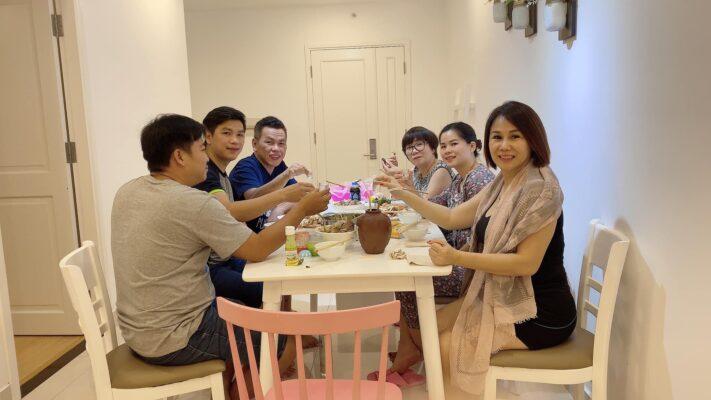 Ở căn hộ du lịch giúp tạo sự gắn kết giữa các thành viên